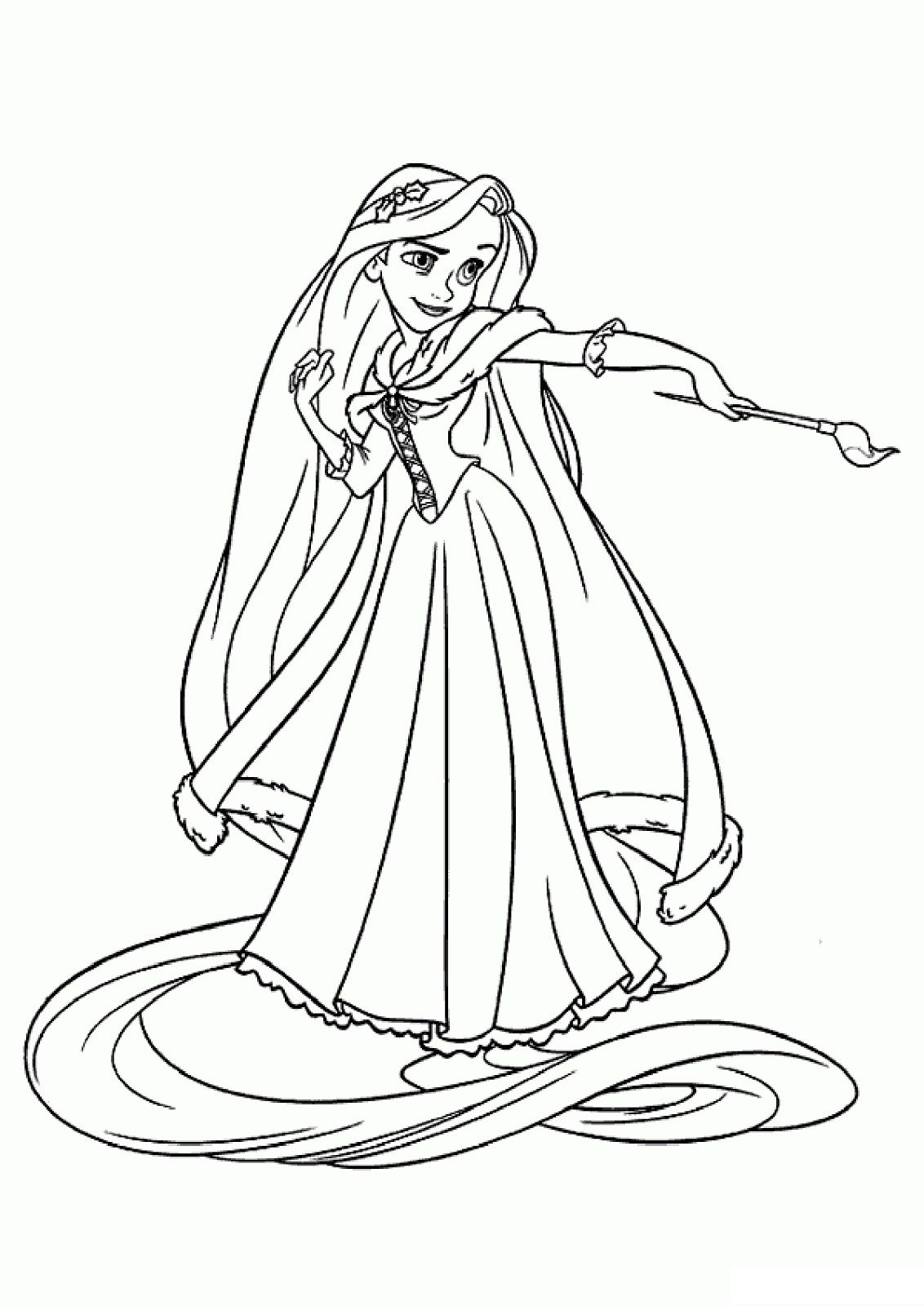 Tangled Printables For Kids Disney Coloring Pages Rapunzel Coloring Pages Cartoon Coloring Pages [ 1600 x 1132 Pixel ]