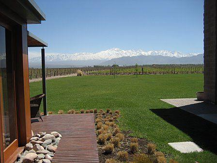 Amazing meal and wine pairing here! Ruca Malen Bodega/Vineyard; Lujan De Cuyo, Mendoza, Argentina