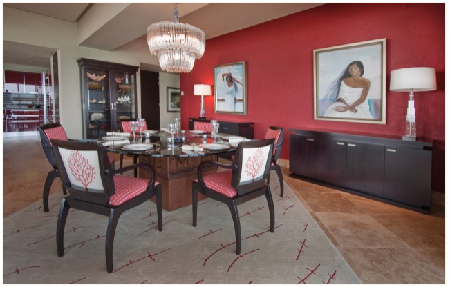 Habanero Pepper 1306 Red Dining Room And Raspberry Truffle Room Amusing Grey And Red Dining Room Inspiration Design