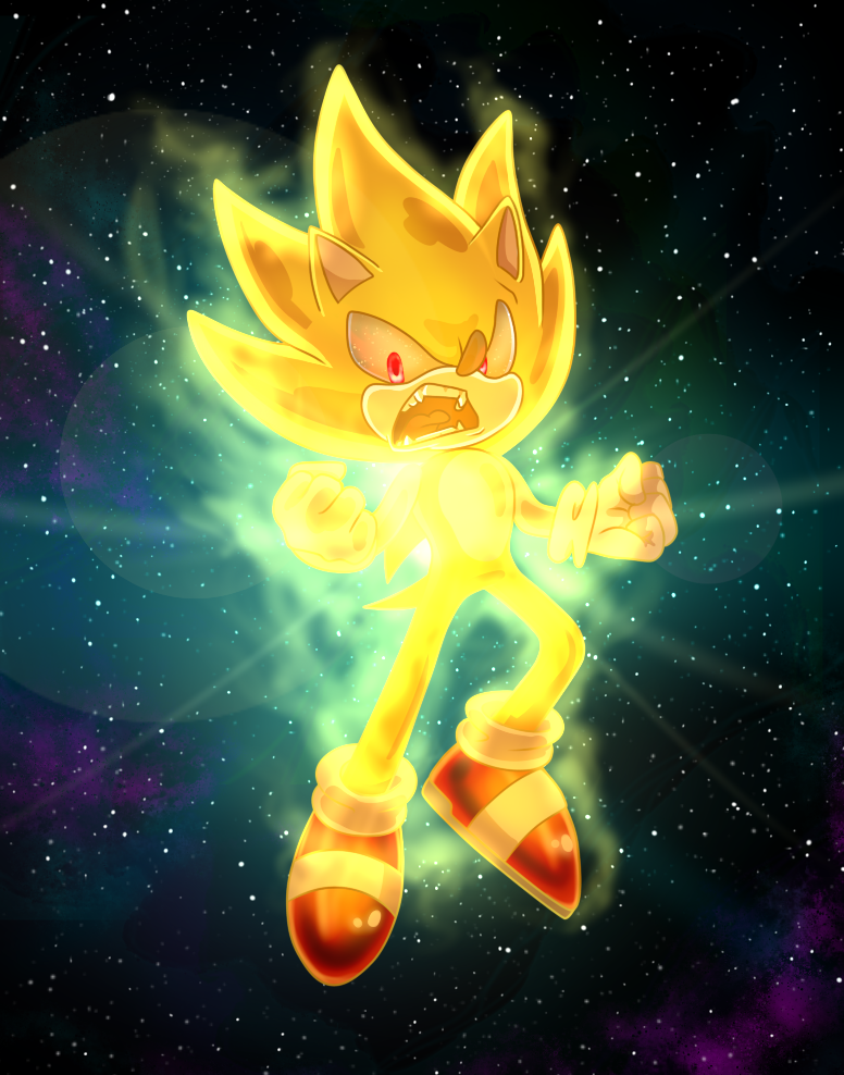 Super sonic in space by 5catsonebowl sonic the - Super sonic 6 ...