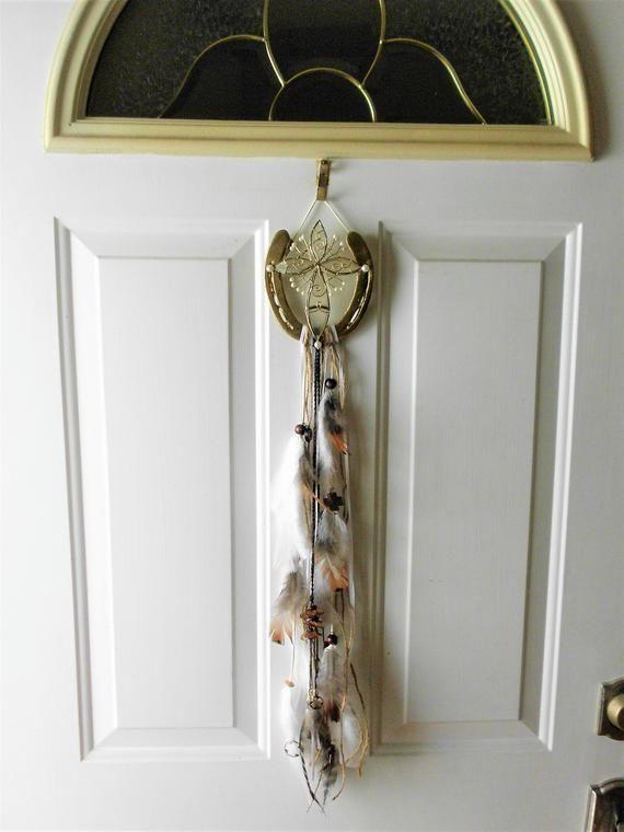 Home Blessing Capiz Cross Horse Shoe Wall Hanging Prayer Room