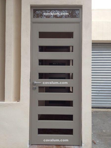 Puerta aluminio exterior buscar con google puertas de entrada aluminio pinterest - Modelos de puertas de aluminio para exterior ...