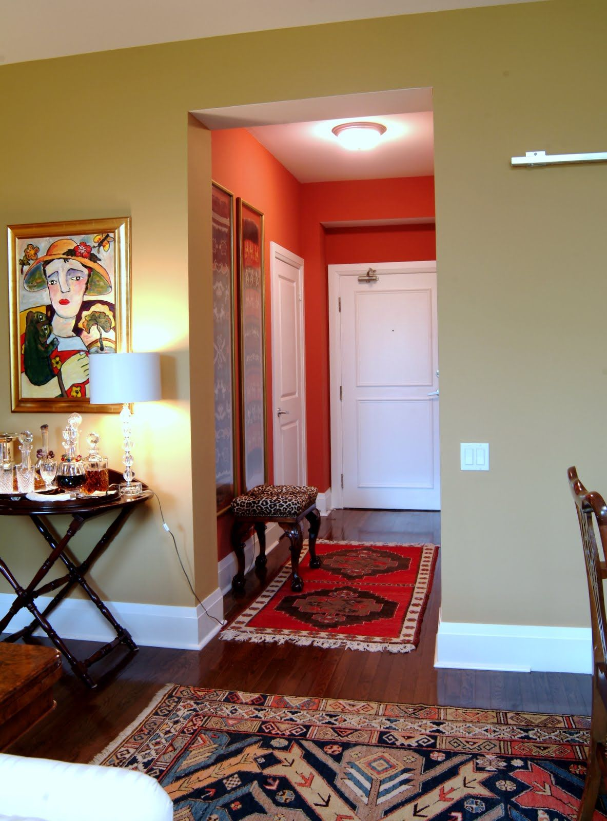This client had impeccable taste and wonderful art and