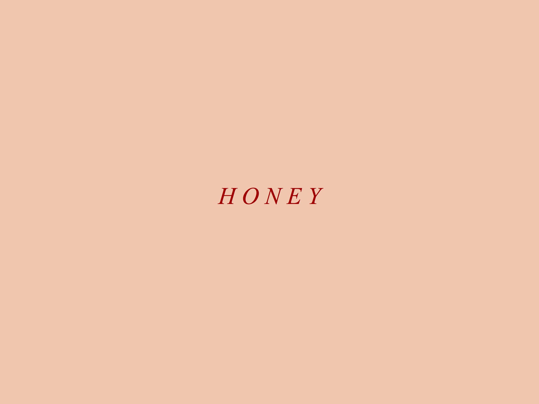 honey by aesthetic desktop wallpaper