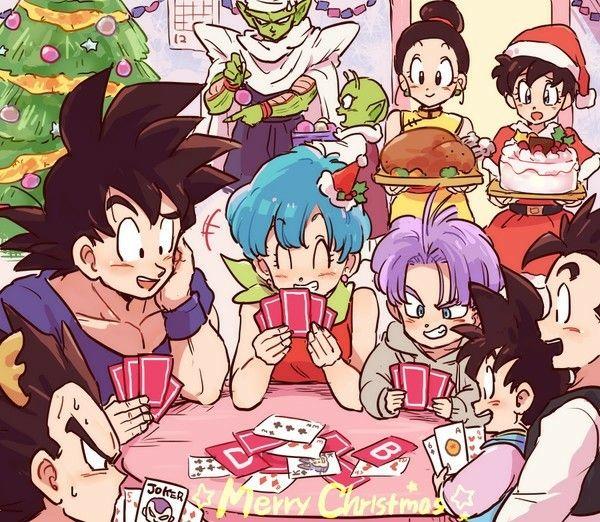 Goku Chichi Gohan Goten Videl Piccolo Dende Bulma Trunks And Vegeta