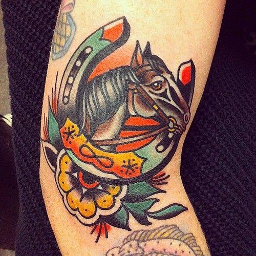 Pin de colin o 39 shaughnessy tucker en tattoos horses for Horse tattoo traditional