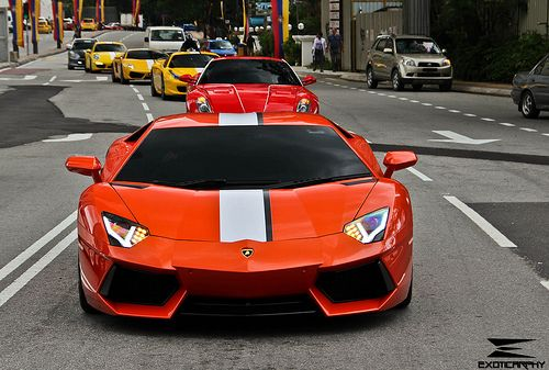Convoy With Supercars With Images Sports Cars Luxury Cool