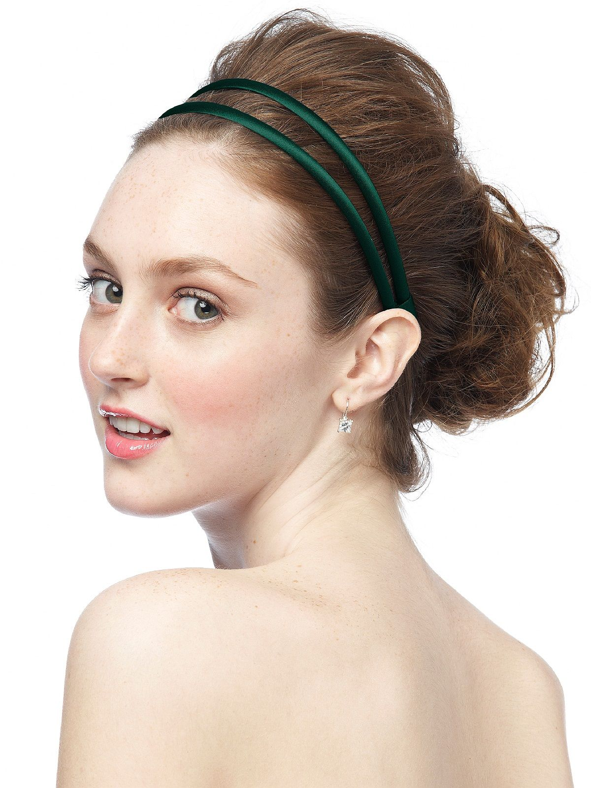 Emerald headband emerald pantone color of the year