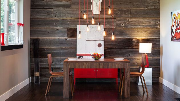 15 Pleasant Eating Rooms With Picket Wall Panels   Room Room Accent Wall  Room Wall Room Wooden Wall Wall