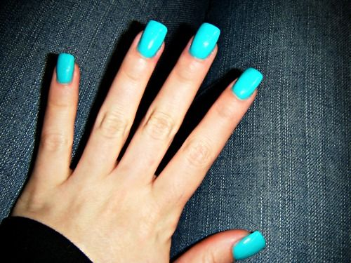 Cute Fake Nails Pretty Colors Square Acrylic Nails Teal Nails Teal Acrylic Nails