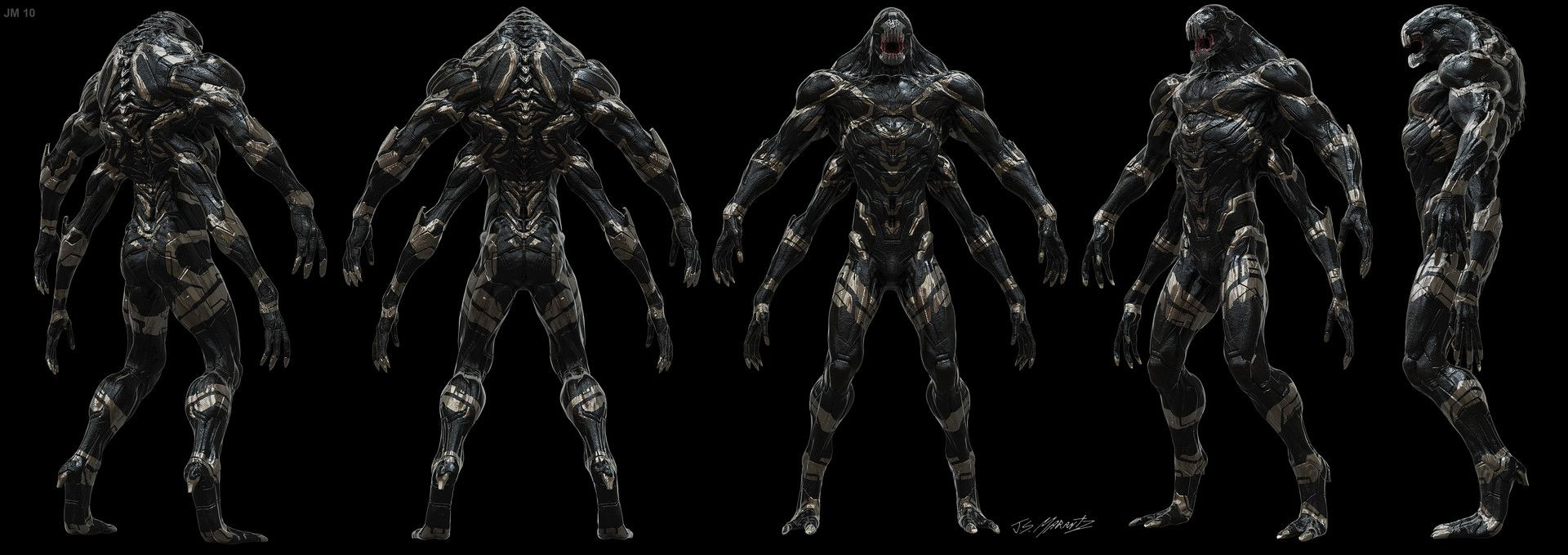 ArtStation - Avengers Infinity War: Outriders Designs, Jerad