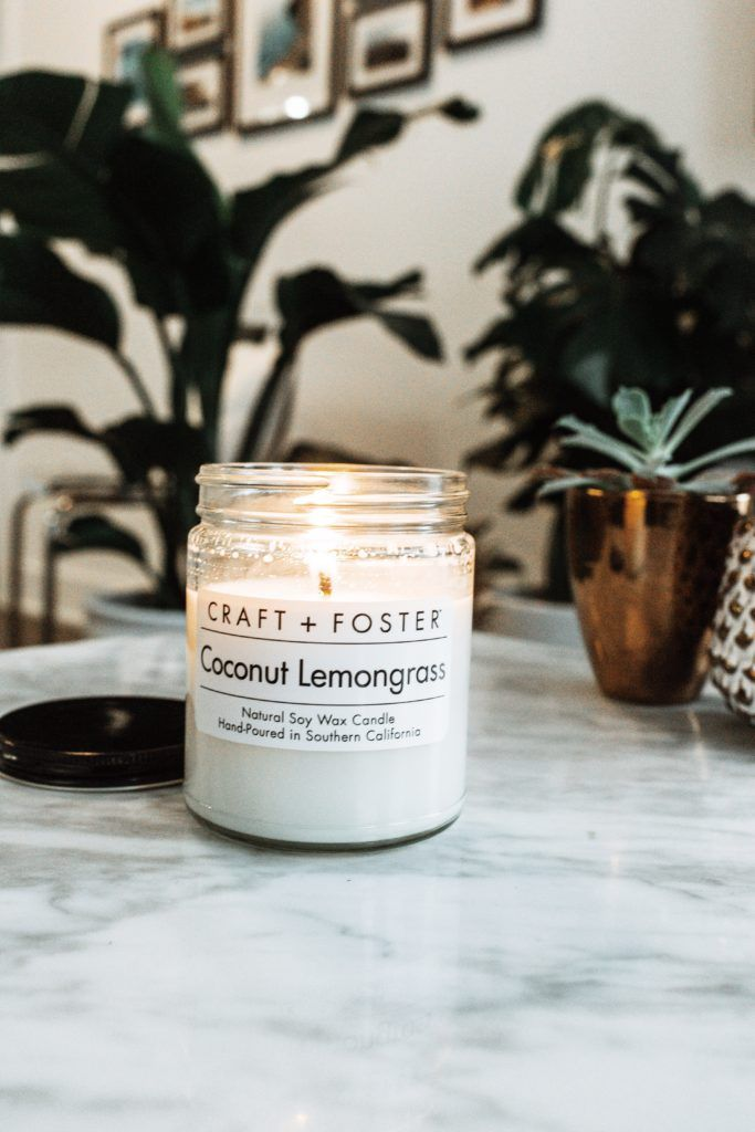 Are Soy Candles Better Craft Foster Coconut Lemongrass By The