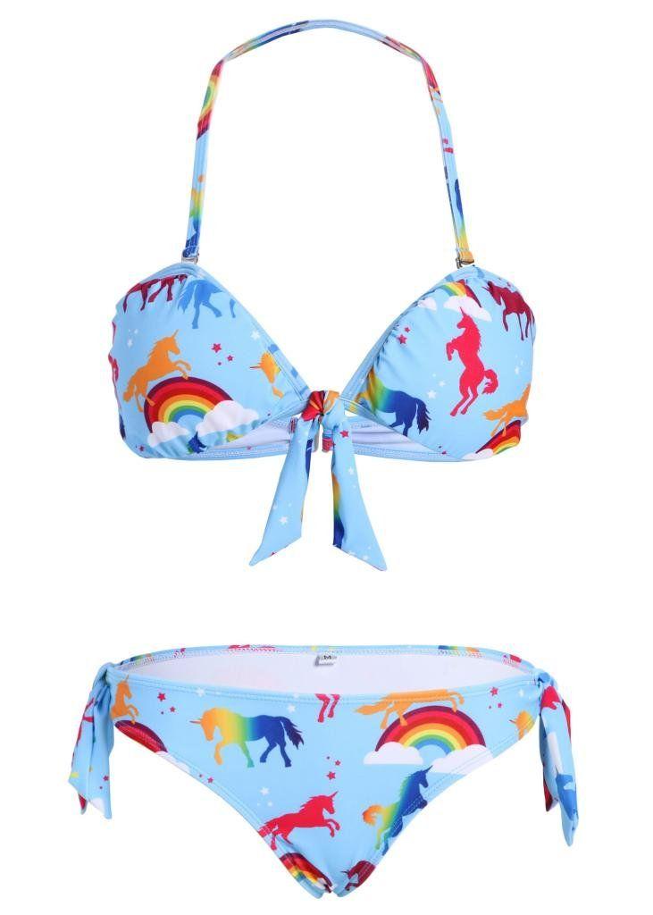 bikinis unicornio