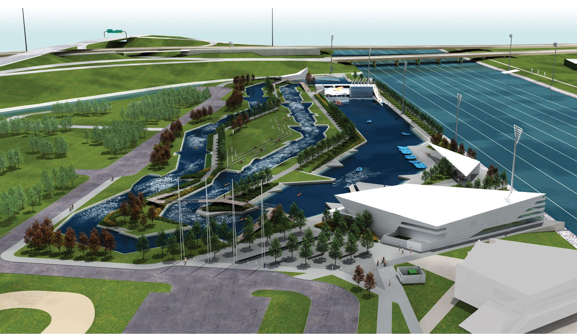 RIVERSPORT Rapids is the latest extreme-sports addition to Oklahoma City's riverfront - Archpaper.com
