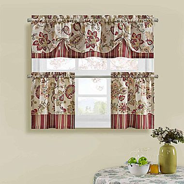 Buy Bijoux Soiree Kitchen Curtains Today At Jcpenney.com. You Deserve Great  Deals And