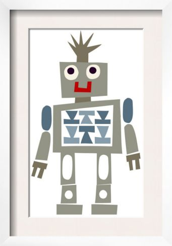 Cute Robot Smiling | CJ and Marcus learning and play area | Pinterest