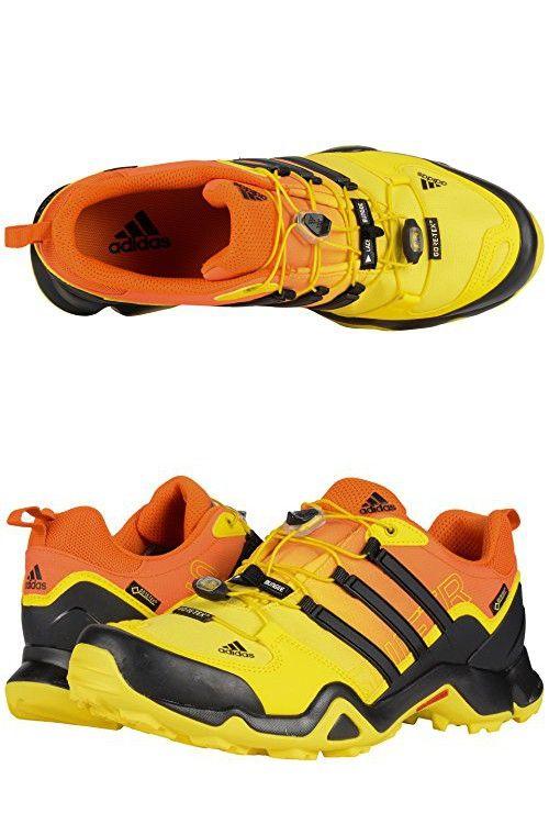 Adidas Outdoor Men's Terrex Swift R GTX Bright YellowBlack