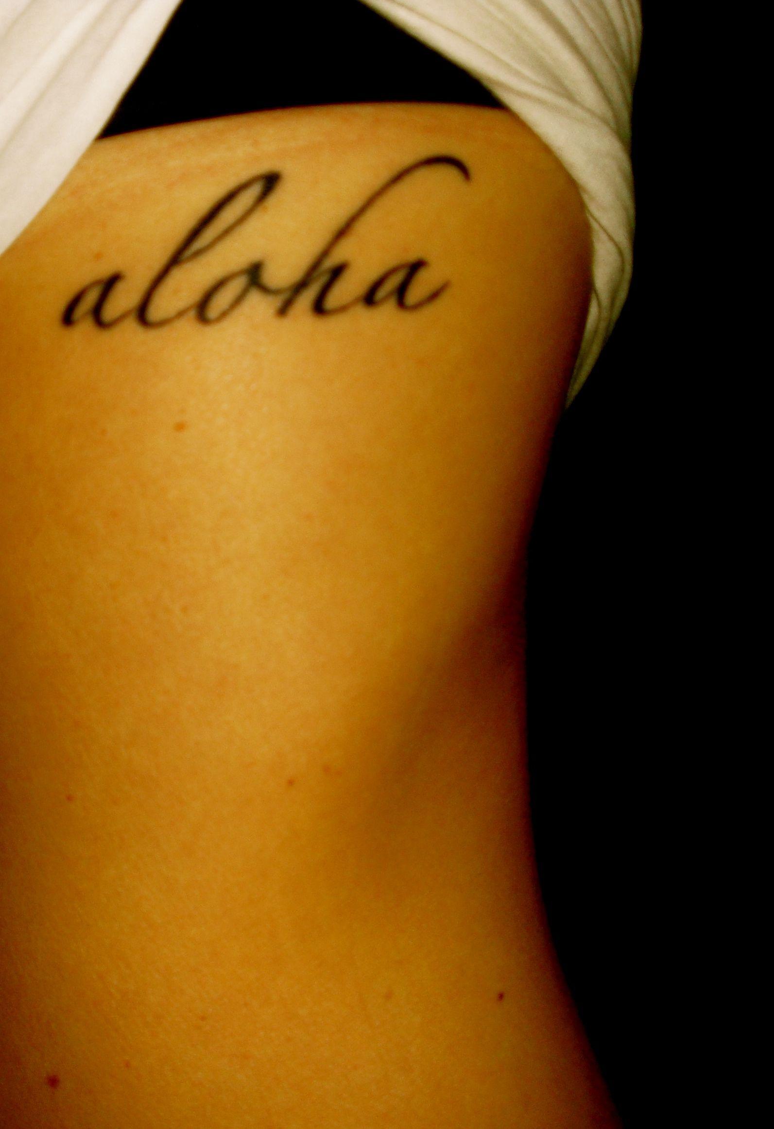 Aloha Tattoo