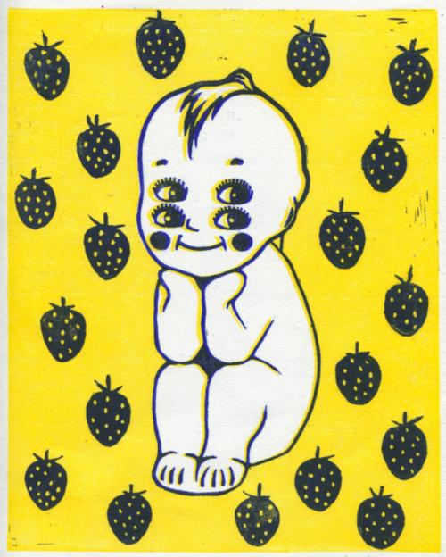 4-eyed baby