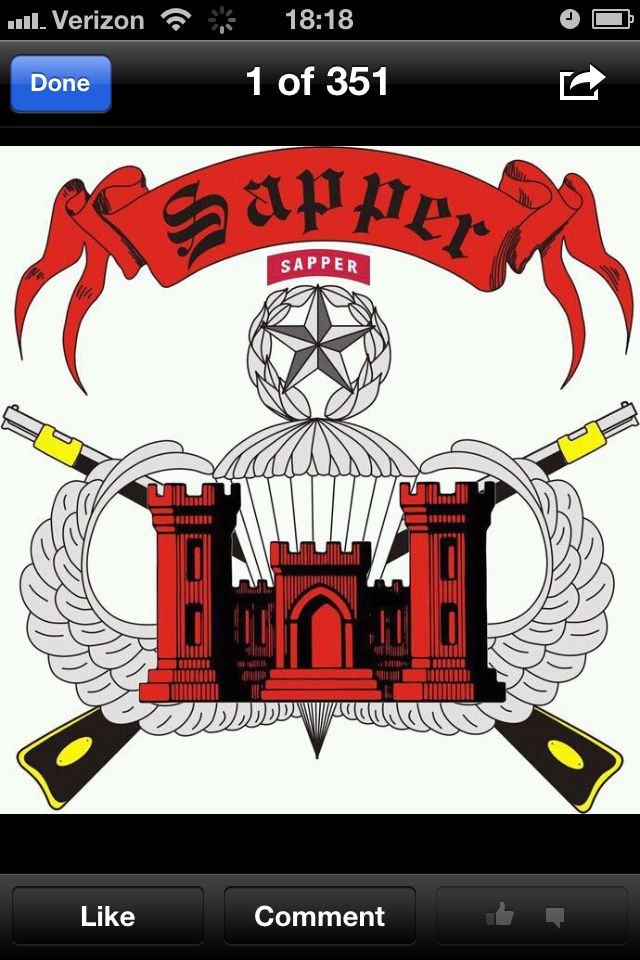 Sappers Army Tattoos Combat Engineering