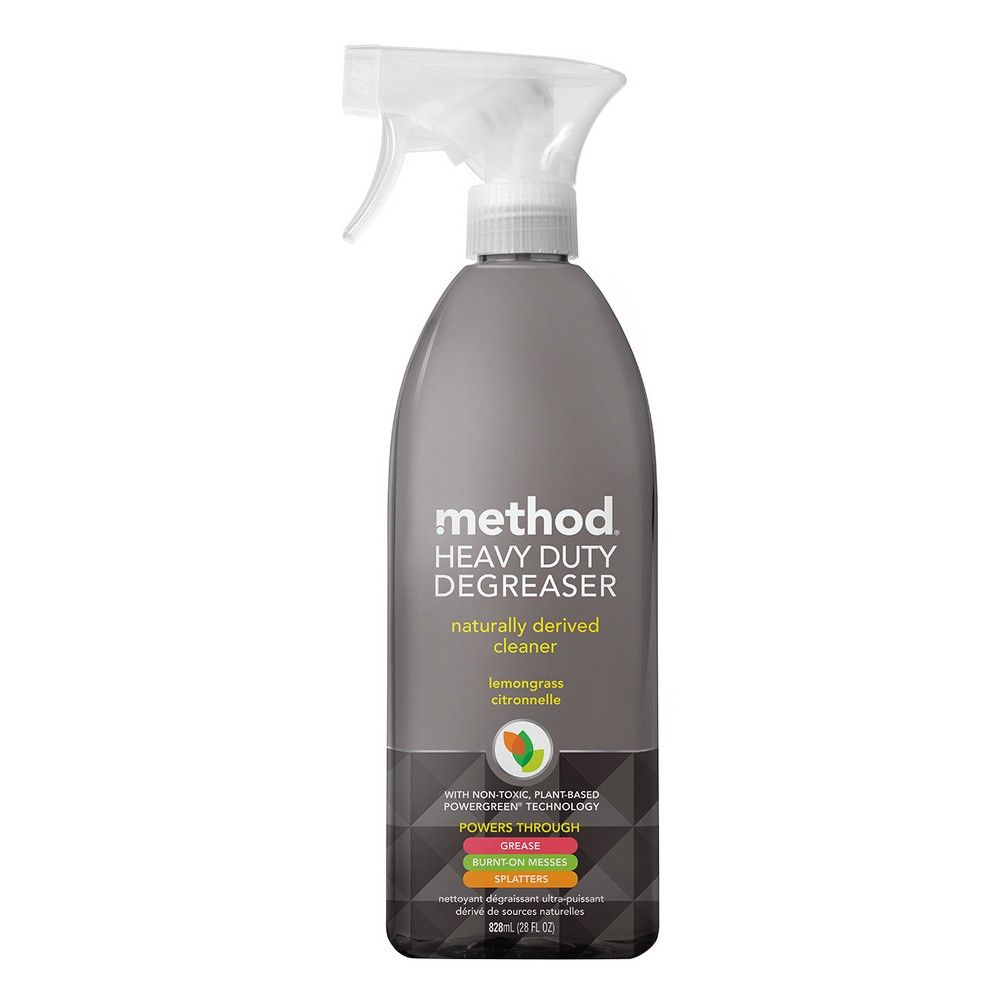 Method Cleaning Products Kitchen Degreaser Lemongrass Spray Bottle ...
