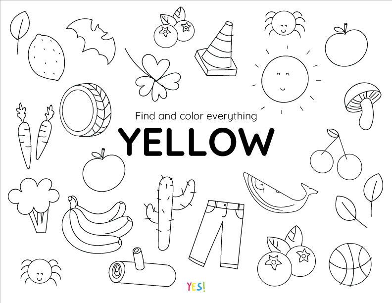 Printable Coloring Pages Of Colors Printable Coloring Pages