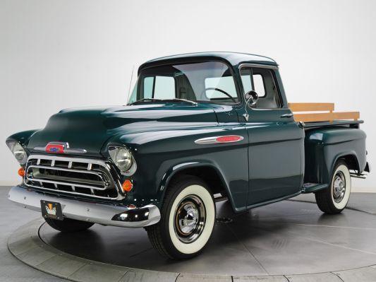 1957 Chevrolet 3100 Pickup Truck Trucks Jeeps Pinterest 1957