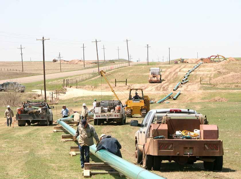 pipeliners Texas Pipeliners Welding rigs