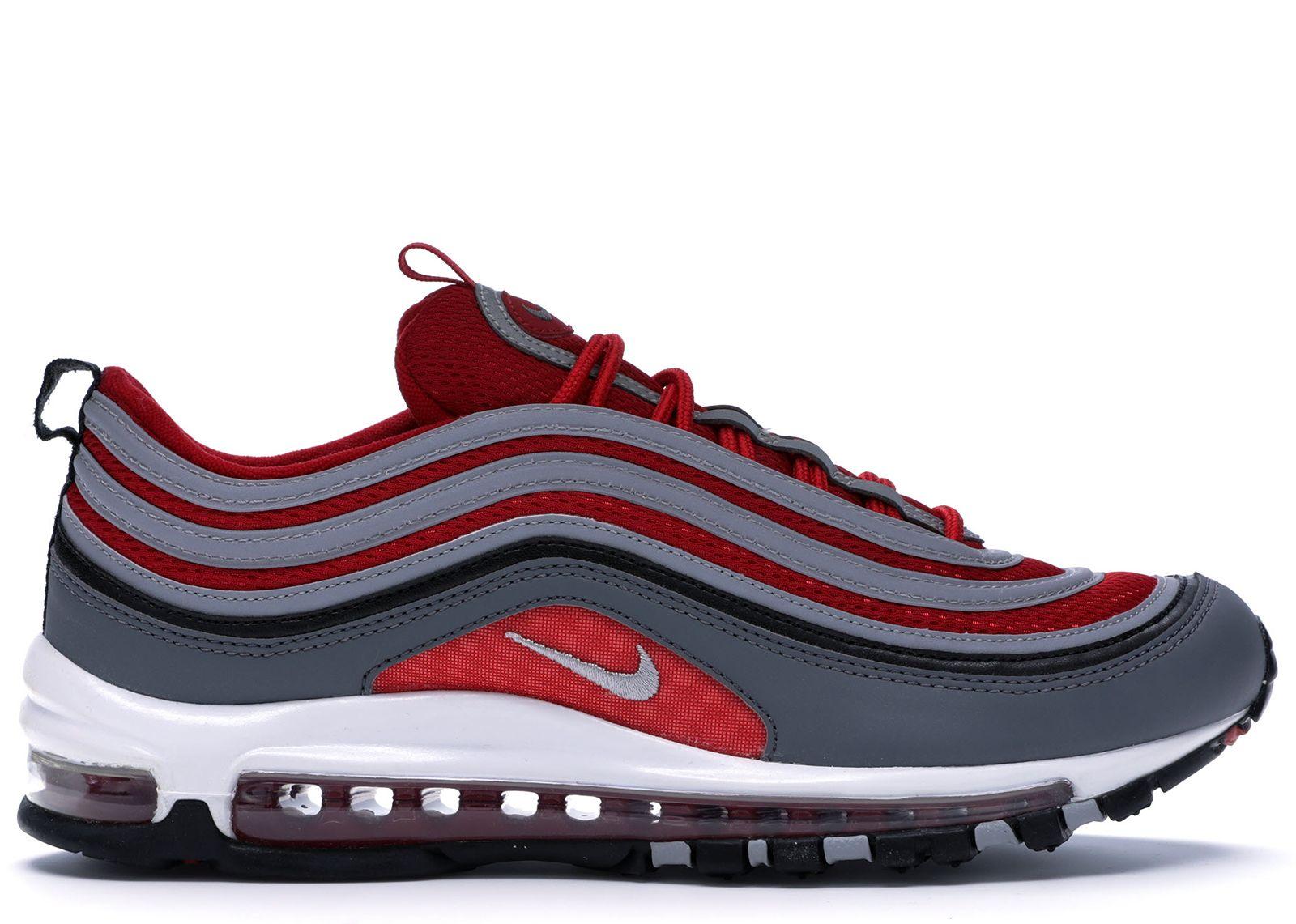 Nike Air Max 97 Dark Grey Gym Red In