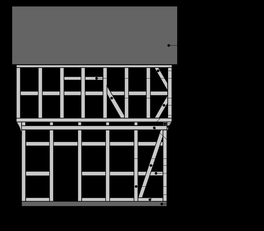 Bauplan Fachwerkhaus timber framing elements fachwerkhaus fachwerk haus