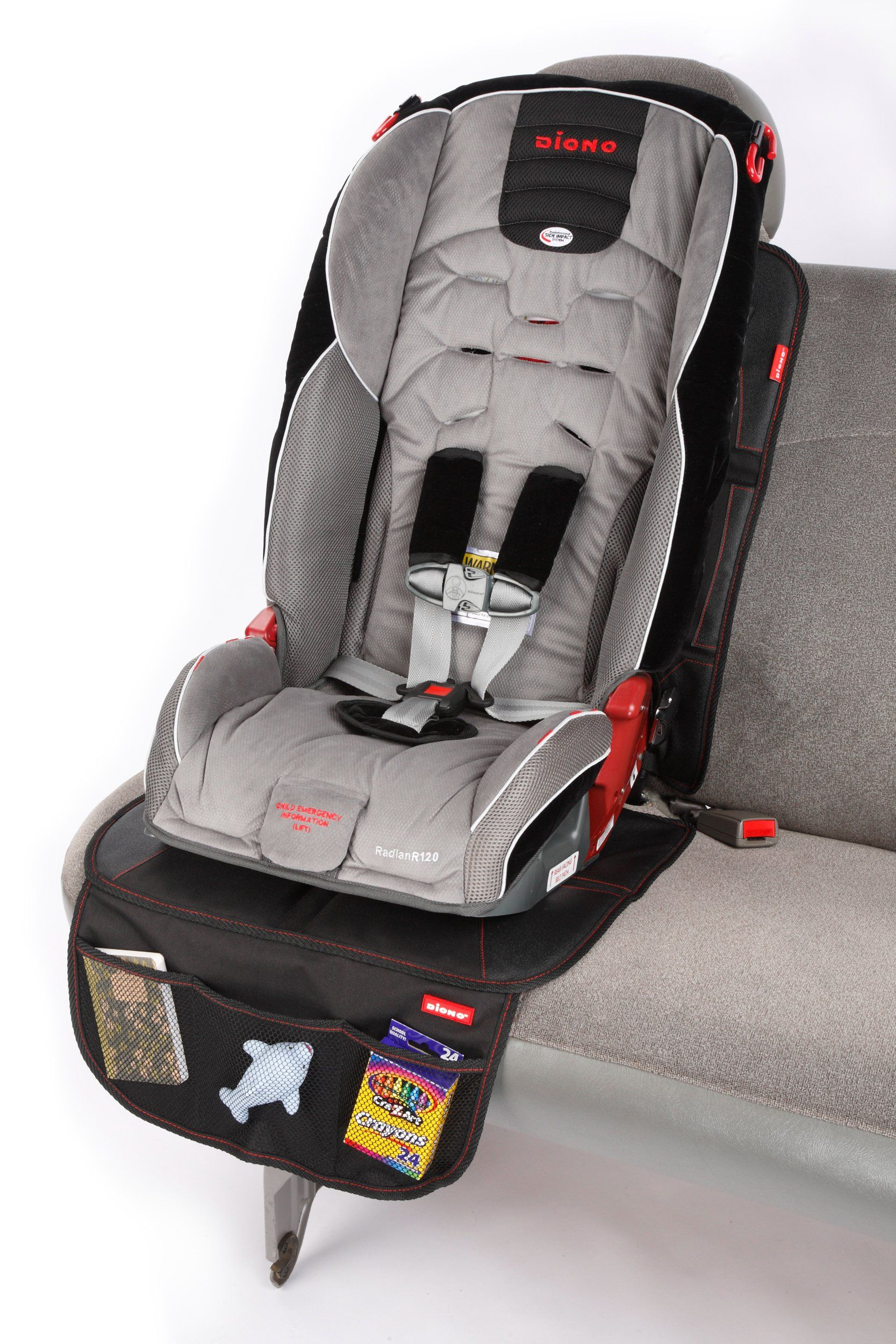 Diono Ultra Mat Fullsize Seat Protector Black You Can Find Out More Details At The Link Of The Image It Is An Affilia Car Seats Baby Car Seats Car Seat Mat