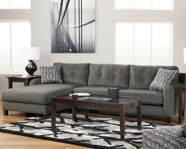 32 idees canape moderne pour le salon canape moderne gris coussin
