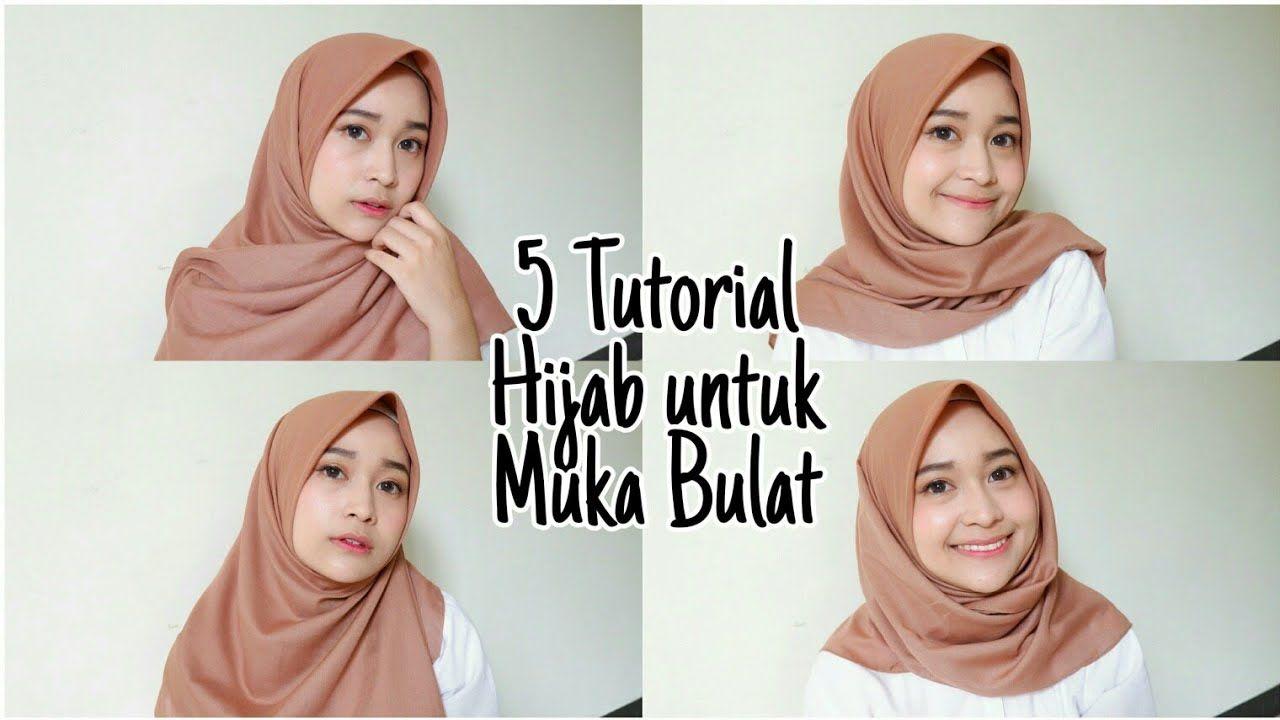 Tutorial Hijab Saudia Segi Empat Untuk Lebaran Ragam Muslim Gaya Hijab Hijab Wajah