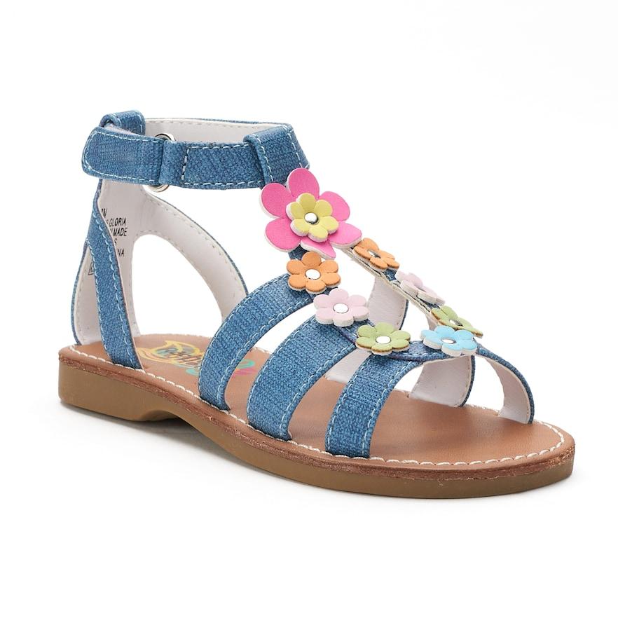 c3eb95ad4441a0 Rachel Shoes Gloria Toddler Girls  Gladiator Sandals
