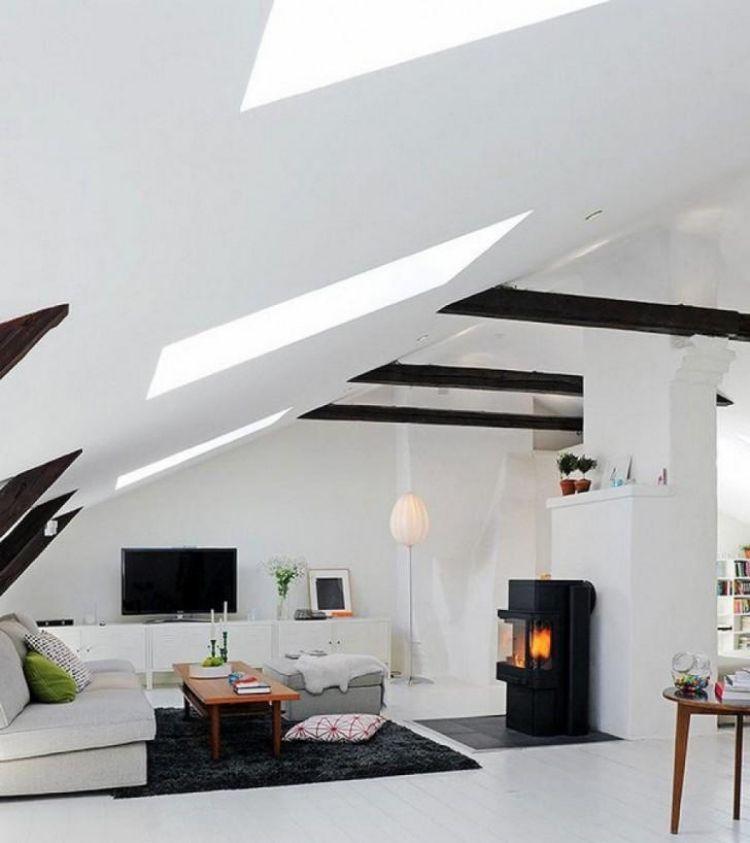 25 Ideen Für Wohnung Einrichten Mit Dachschrägen #dachschragen #einrichten # Ideen #wohnung