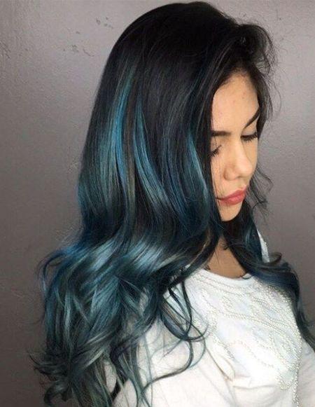 superb color shades of blue black