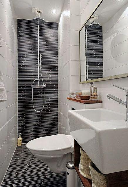 Pabla en casa: 35 Baños pequeños y funcionales   Diseño de ...