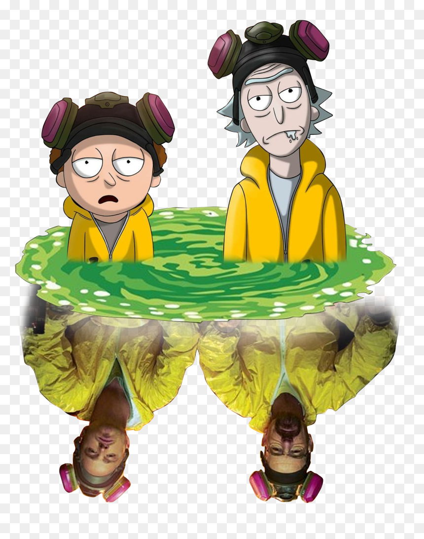 Breaking Bad Y Rick And Morty Hd Png Download Is Pure And Creative Png Image Uploaded By Designer To Sear Rick And Morty Stickers Breaking Bad Rick And Morty