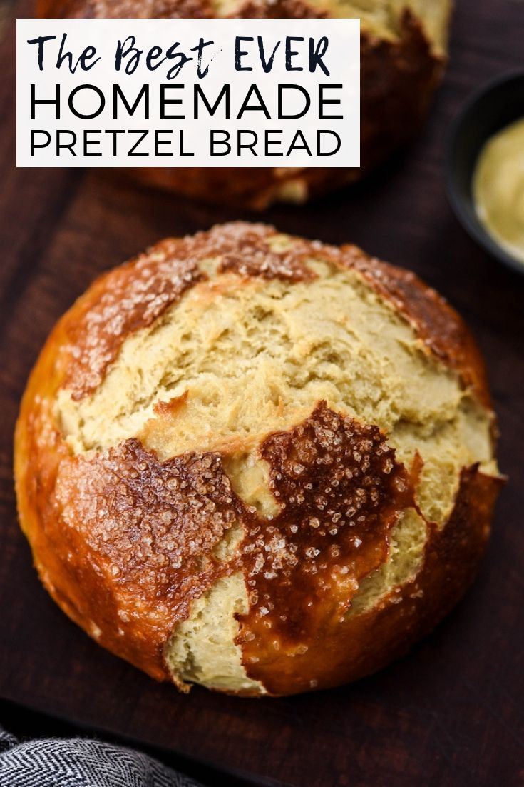 The BEST Homemade Pretzel Bread recipe ever. Seriously ...