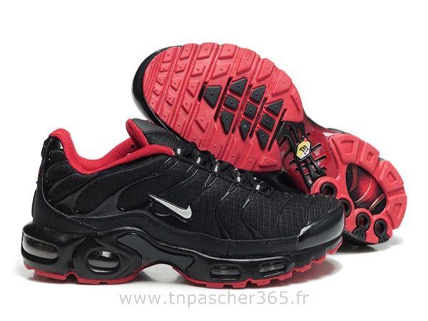 grand choix de 288ab 962b1 Chaussures de Nike Air Max Tn Requin Homme Noir et Rouge ...