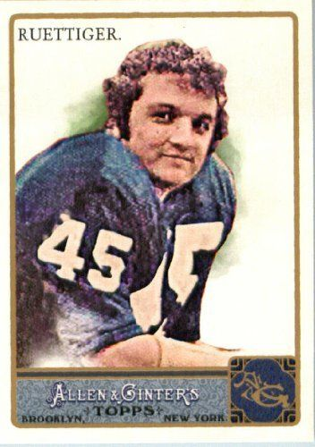 2011 Topps Allen And Ginter 238 Rudy Ruettiger Notre Dame Rudy