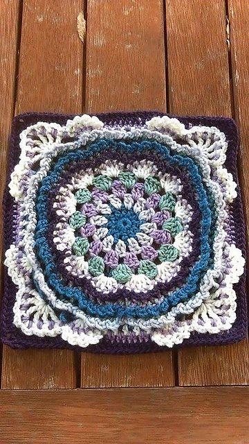 Kaylee pattern by Polly Plum | Afghans | Pinterest | Häkelanleitung ...