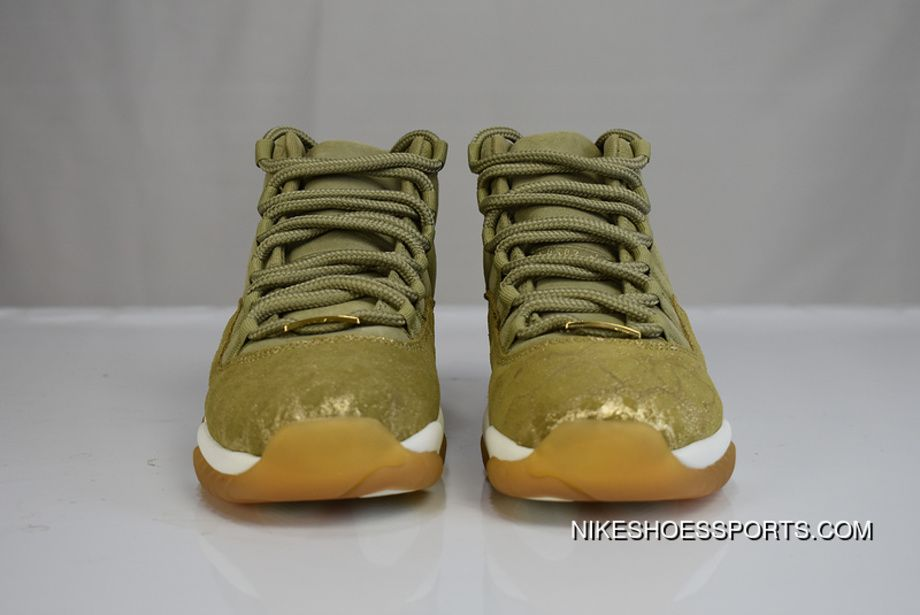 af74ee0faf1 Air Jordan 11 Neutral Olive 378037-016 Retro Basketball Shoes Unisex Suede  Sports Sneakers Neutral Olive/Sail-Gum Light Brown-Metallic Stout New  Release