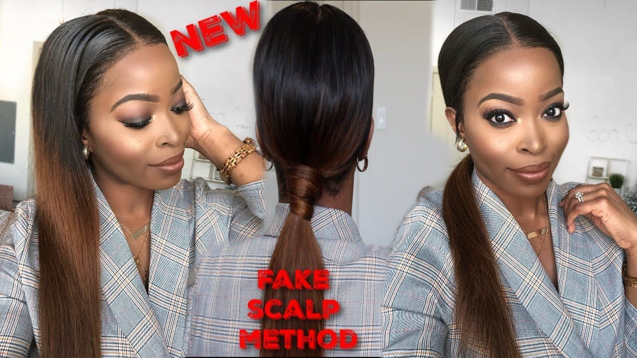 how to put on a wig for the first time