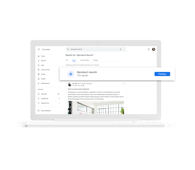 Introducing Currents, the newest G Suite app Business