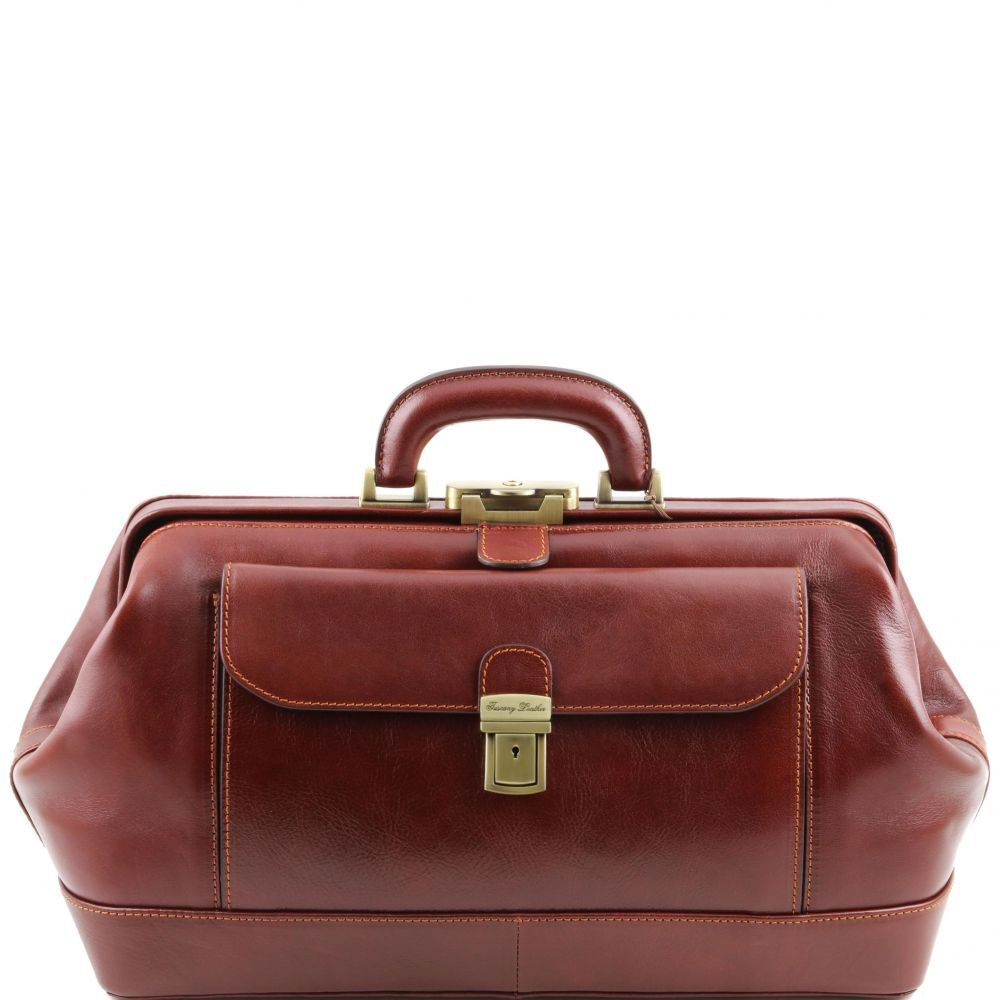 Bernini Elegante bolso de doctor en piel. (Exclusive leather