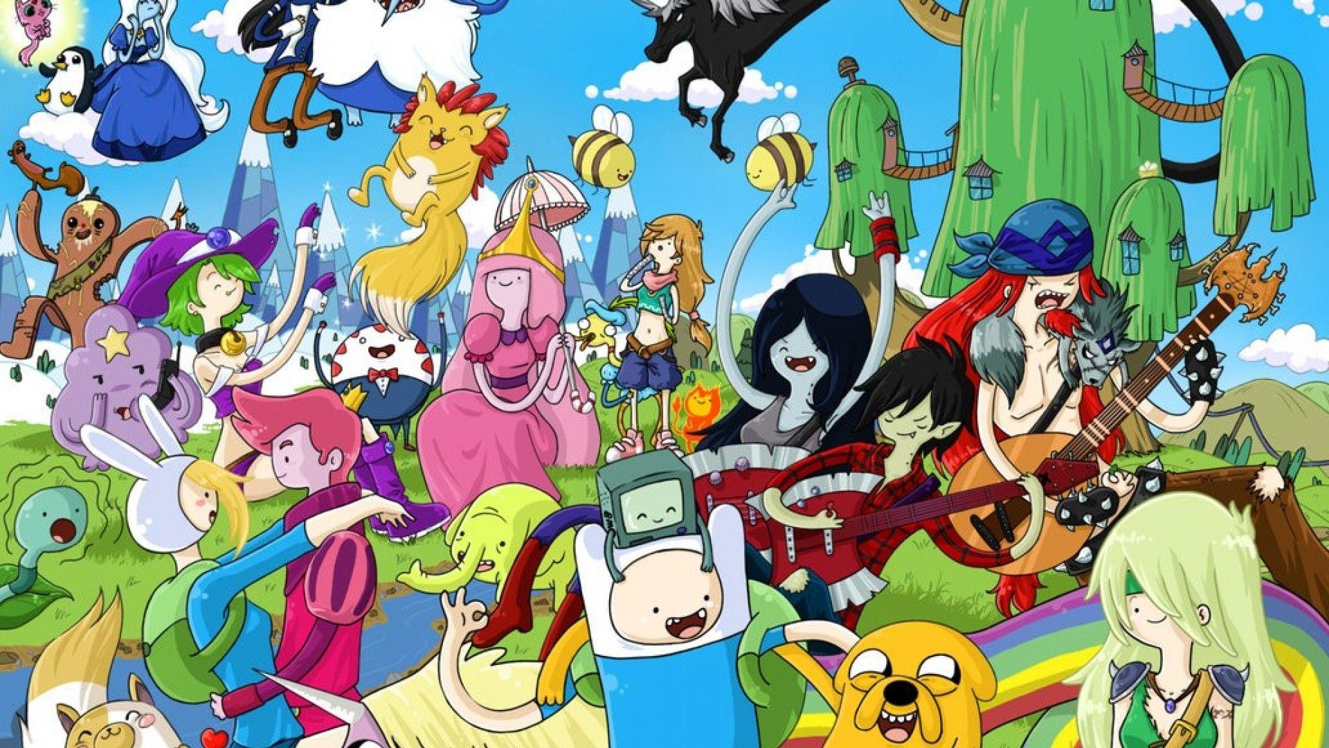 Anime Adventure Time Marceline Wallpaper