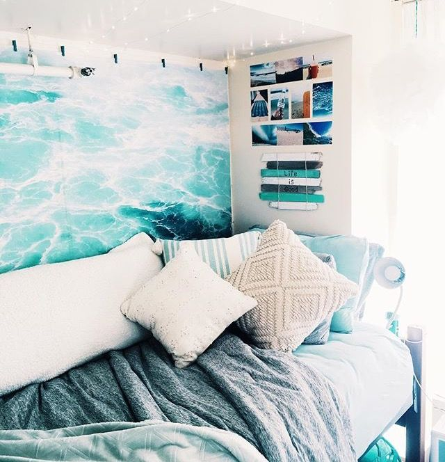 10 Cozy And Dreamy Bedroom With Galaxy Themes: LifeOfOlivia On Dream Dorms In 2019