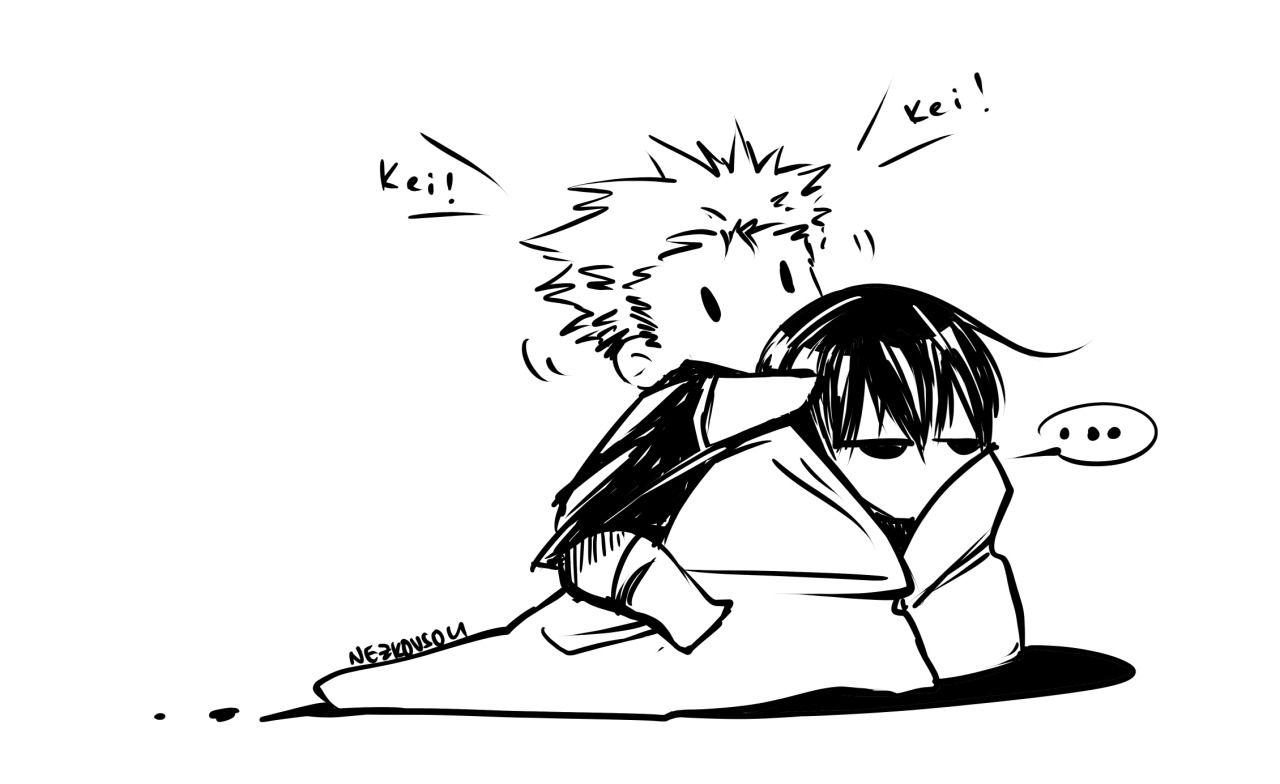 Kei and Kai >//<