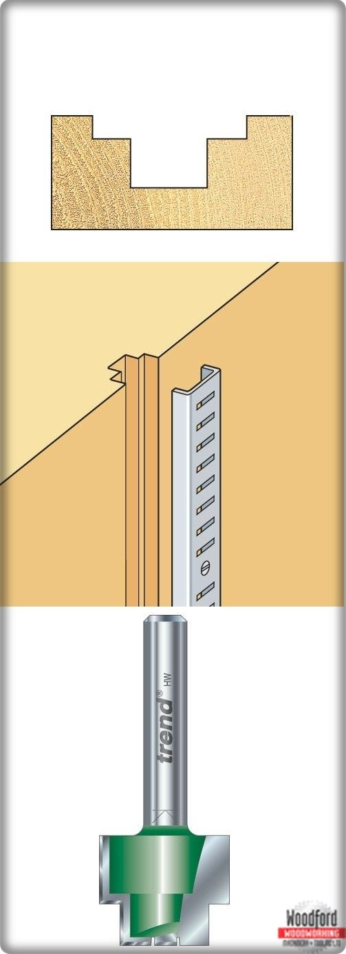 Recessing cutter for producing double rebates. * For producing recesses with a lower rebate... #Rebater #Cutter 13mm (http://www.woodfordtooling.com/craftpro-router-cutters/rebaters/strip-recessers/13mm-rebater.html)